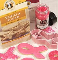 Pink Ribbon Cookie Kit