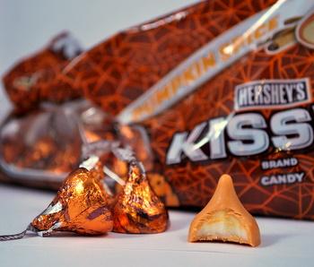 Pumpkin Spice Hershey's Kisses