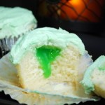 Slime-Filled Cupcakes from the Black Lagoon!