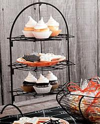 Spiderweb Tiered Cake Stand