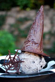 Chocolate Covered Witch Hats