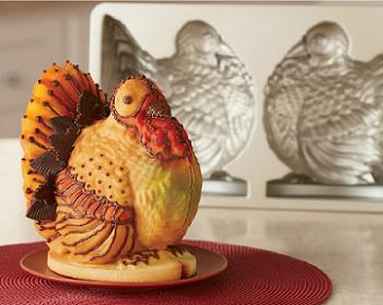 3D Turkey Cake Pan