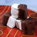 Milk Chocolate Covered Homemade Marshmallows