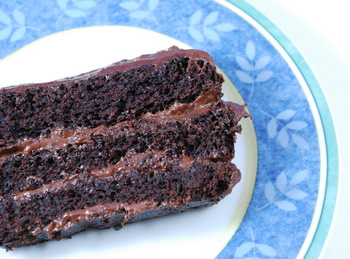 Chocolate Loaf Layer Cake