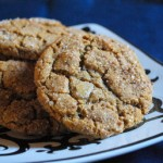Spicy, Chewy Molasses Cookies