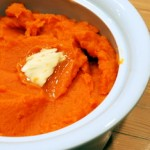 Mashed Sweet Potatoes with Maple Butter