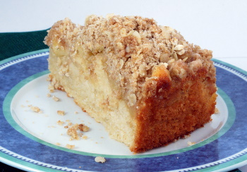 Apple Pie Coffee Cake with Cheddar Cheese | Baking Bites