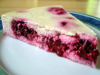 Cottage Cheese Cheesecake slice