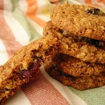 Dried Cherry and Pistachio Oatmeal Cookies