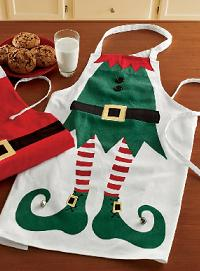 Holiday Elf Apron