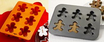 Silicone vs metal gingerbread pans
