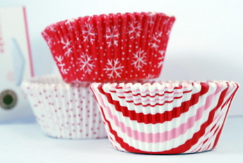 Holiday Cupcake Wrappers from Martha Stewart