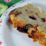 Eggnog Bread Pudding slice