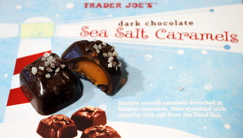 TJ's Dark Chocolate Sea Salt Caramels