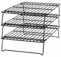 wilton stackable three tier cooling rack