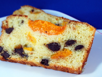 Apricot, Orange and Chocolate Chip Loaf