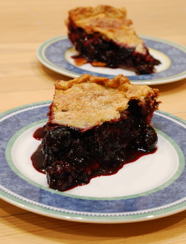 Blackberry Raspberry Pie