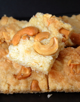 Cashew Brittle Bars