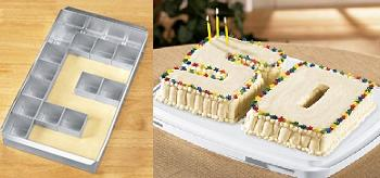 Alphabet/Number Cake Pan