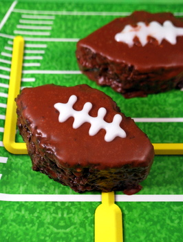 Chocolate Football Cakes