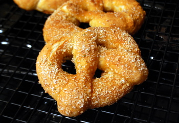 Garlic Salt Pretzels