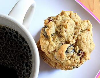Oatmeal Cranberry Flaxseed Cookies
