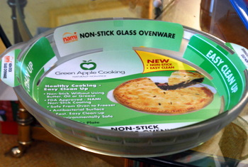Green Apple Nonstick Glass Bakeware