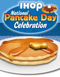 National Pancake Day: Free Pancakes at IHOP