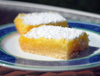 Buttermilk Lemon Bars