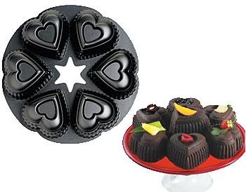 Wilton Mini Heart Cake Pan