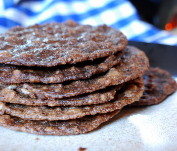 Nutella Oatmeal Thins