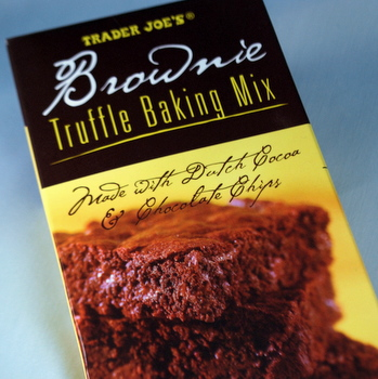 Trader Joe's Brownie Truffle Mix