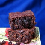 Trader Joe's Truffle Brownie Mix, baked