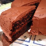 Classic Chocolate Cake, slice