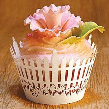 Picket Fence Cupcake