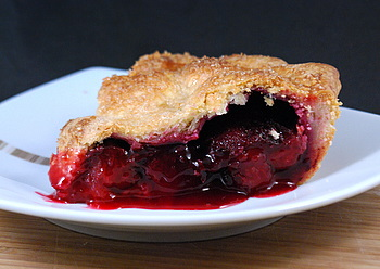 Plum Pie Slice