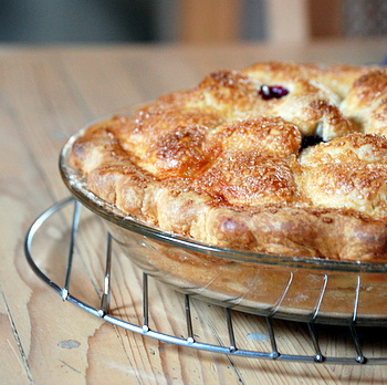 Plum Pie, whole