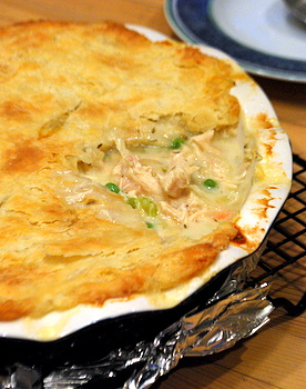 Deep Dish Chicken Pot Pie