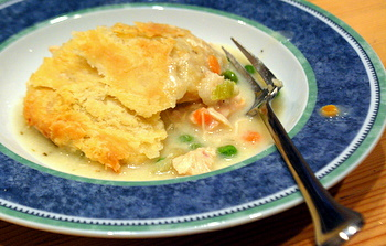 Chicken Pot Pie, served