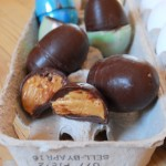 Homemade Peanut Butter-Filled Chocolate Easter Eggs