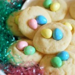Easter Egg Shortbread Cookies