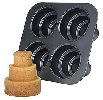 Multi-Tier Mini Cake Pan - Baking Bites
