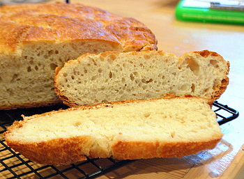 No-Knead Pot Bread, interior