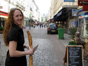 Baguette Shopping in Paris