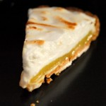 Lime Meringue Tart slice
