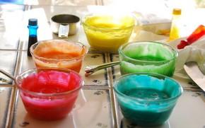 Food coloring gel vs non-gel