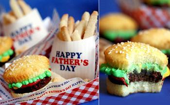 Bakerella's Sweet Burgers!