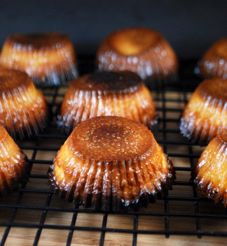 Homemade Canneles