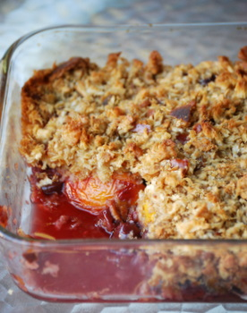 Cherry Nectarine Brown Betty