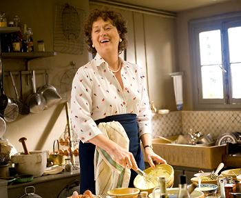 Meryl Streep as Julia Child
